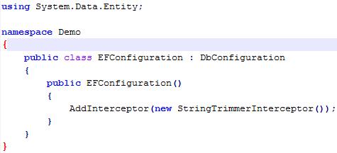 EfConfiguration